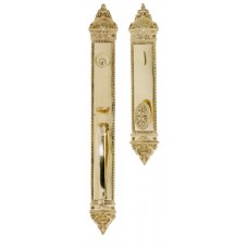 L'Enfant Keyed Tubular Grip Entry Set (D04-H660) by Brass Accents
