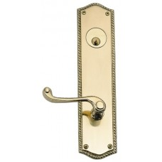 Trafalgar Keyed Tubular Plate Entry Set (D06-K250) by Brass Accents