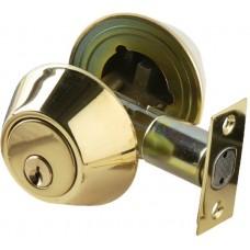 Single Cylinder Deadbolt (D09-D1510) by Brass Accents