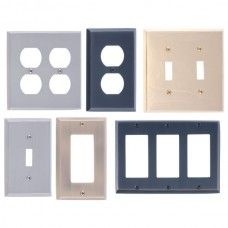 Quaker Switch Plates (Various Finishes - Various Layouts) by Brass Accents