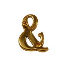 "Traditional 4"" Ampersand (&) House Number (I07-L91&0) in Various Finishes by Brass Accents"