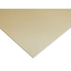 Acrylic Kick Plate in Beige Plastic (Various Sizes) by Brass Accents