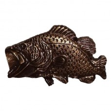 Bass Cabinet Knob (KB00005 / 5) - Fish Collection from Buck Snort Lodge