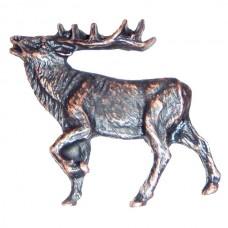 Walking Elk - LF Cabinet Knob (51) - Wildlife Collection from Buck Snort Lodge