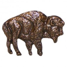 Buffalo Cabinet Knob (KB00055 / 55) - Wildlife Collection from Buck Snort Lodge