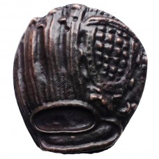 Baseball Glove Cabinet Knob (KB00065 / 65) - Sports Collection from Buck Snort Lodge