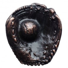 Baseball Glove w/ Ball Cabinet Knob (KB00066 / 66) - Sports Collection from Buck Snort Lodge