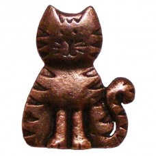 Cat Cabinet Knob (KB00097 / 97) - Whimsical Collection from Buck Snort Lodge