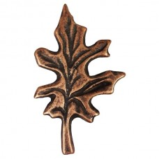 Oak Leaf Cabinet Knob (KB00142 / 142) - Leaves & Trees Collection from Buck Snort Lodge