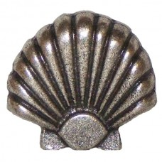 Large Seashell Cabinet Knob (KB00212 / 212) - Tropical Collection from Buck Snort Lodge