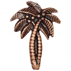 Palm Trees Cabinet Knob (KB00228 / 228) - Tropical Collection from Buck Snort Lodge