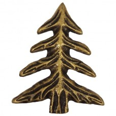 Pine Tree  Cabinet Knob (KB00230 / 230) - Leaves & Trees Collection from Buck Snort Lodge