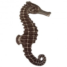 Large Seahorse Right Facing Cabinet Knob (KB00234 / 234) - Tropical Collection from Buck Snort Lodge