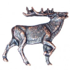 Walking Elk - RF Cabinet Knob (271) - Wildlife Collection from Buck Snort Lodge