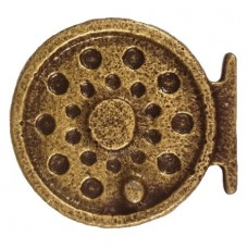 Fly Fishing Reel Cabinet Knob (KB00298 / 298) - Fish Collection from Buck Snort Lodge