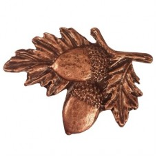 Acorns On Branch Cabinet Knob (300) - Leaves & Trees Collection from Buck Snort Lodge