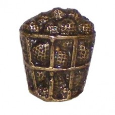 Bucket Of Golf Balls Cabinet Knob (KB00304 / 304) - Sports Collection from Buck Snort Lodge
