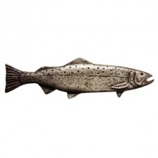 Long Trout Right Facing Drawer Pull (PL00319 / 319) - Fish Collection from Buck Snort Lodge