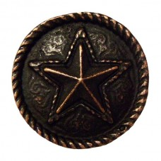 Barn Star Cabinet Knob (KB00334 / 334) - Southwest Collection from Buck Snort Lodge