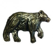 Bear Right Facing Cabinet Knob (KB01182 / 372) - New Arrivals Collection from Buck Snort Lodge