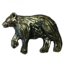 Bear Left Facing Cabinet Knob (KB01183 / 373) - New Arrivals Collection from Buck Snort Lodge