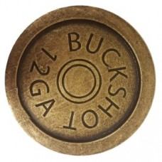 Shotgun Shell Coaster Coaster (900) - Coasters Collection from Buck Snort Lodge