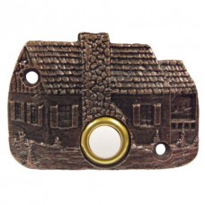 Cabin Door Bell Door Bell (919) - Doorbells Collection from Buck Snort Lodge