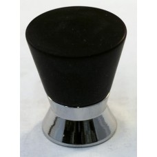 Matte Black Cone Cabinet Knob (25mm) (102-M034) by Cal Crystal