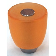 Matte Amber Urn Cabinet Knob (29mm) (108-CM011) by Cal Crystal