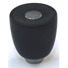 Matte Black Urn Cabinet Knob (29mm) (108-M034) by Cal Crystal