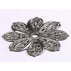 "Flower Knob Backplate (1-3/4"") (24BP) by Cal Crystal"