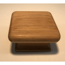 """Oak Square Cabinet Knob (1-1/2"""") (7725) by Cal Crystal"""