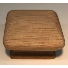 """Oak Square Cabinet Knob (1-3/4"""") (7730) by Cal Crystal"""