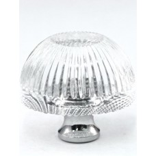 "Grooved Cabinet Knob (1-3/8"") (G248) by Cal Crystal"