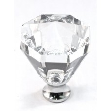 """Octagon Cabinet Knob (1-1/4"""") (M13/32) by Cal Crystal"""