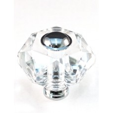 "Hexagon Cabinet Knob (1-3/4"") (M50) by Cal Crystal"