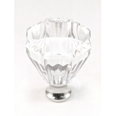 """Octagon Cabinet Knob (1-1/4"""") (M991) by Cal Crystal"""