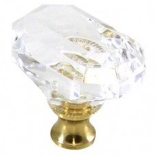 """Octagon Cabinet Knob (1-1/2"""") (M996) by Cal Crystal"""