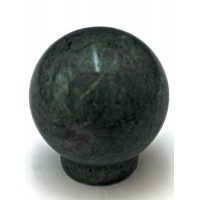 "Green Round Ball Cabinet Knob (1-1/4"") (RB-1) by Cal Crystal"