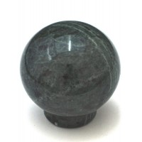 """Green Round Ball Cabinet Knob (1-1/2"""") (RB-2) by Cal Crystal"""