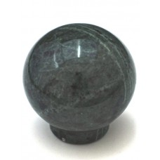 "Green Round Ball Cabinet Knob (1-1/2"") (RB-2) by Cal Crystal"