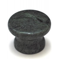 """Green Round Cabinet Knob (1-3/8"""") (RP-4) by Cal Crystal"""