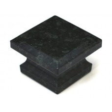 "Green Square Cabinet Knob (1-5/8"") (S-3) by Cal Crystal"