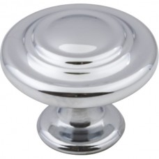 "Arcadia Cabinet Knob (1-1/4"") - Polished Chrome (107PC) by Elements"