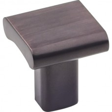 """Park Cabinet Knob (1"""") - Brushed Oil Rubbed Bronze (183DBAC) by Elements"""