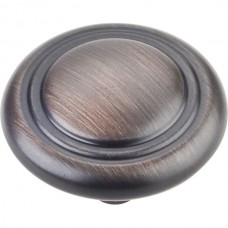 """Vienna Cabinet Knob (1-1/4"""") - Brushed Oil Rubbed Bronze (202DBAC) by Elements"""