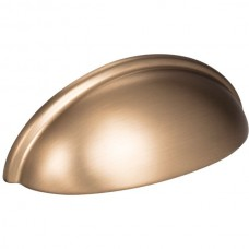 """Florence Small Cup Bin Pull (3"""" CTC) - Satin Bronze (2981SBZ) by Elements"""