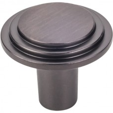 """Calloway Cabinet Knob (1-1/4"""") - Brushed Oil Rubbed Bronze (331L-DBAC) by Elements"""