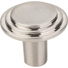 """Calloway Cabinet Knob (1-1/4"""") - Satin Nickel (331L-SN) by Elements"""
