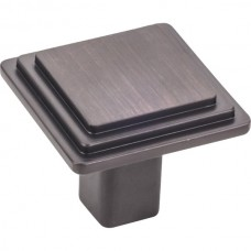 """Calloway Cabinet Knob (1-1/4"""") - Brushed Oil Rubbed Bronze (351L-DBAC) by Elements"""